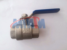 2pcs manual stainless steel ss316 ball valve