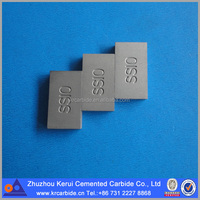 BK8/BK8KC Cemented carbide saw blade tips for cutting stone in limestone quarrying