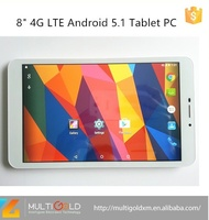 China Tablet PC Manufacturer tablet 8 inch IPS 4G LTE Android 5.1 MT8735 quad cores 16GB tablet pc android