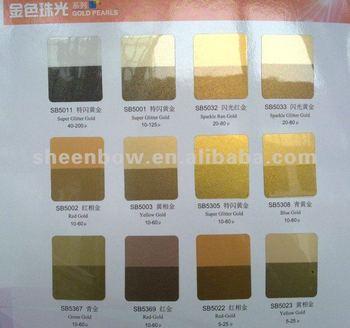 how to get golden pigment