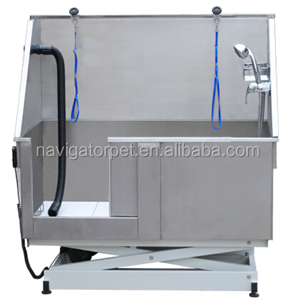 Stainless Steel Electric Lifting Dog BathTub