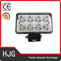 Competitive price 12V 24V 24w black agricultural machinery truck led working light