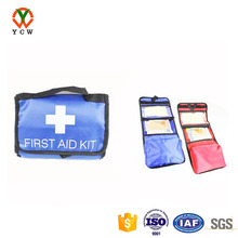 Cheap printed logo emergency car first aid kit
