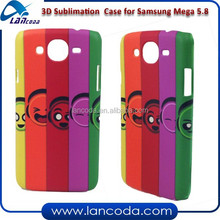 New model sublimation blank phone case for Samsung Galaxy mega 5.8 9150 phone cover