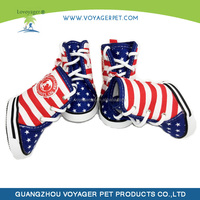 Best quality beautiful pet dog shoe and boot with CE certificate