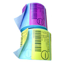 Sticker Paper , Whole Price Full Color Textured Sticker Paper Rolls