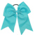 Elastic Band Cheerleading Girls Rhinestone Cheer Bow For Cheerleader CNHB-1408184W