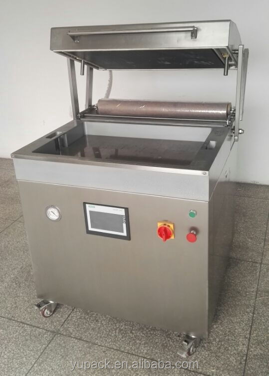 YUPACK DZT7050 sea foods vacuum skin packaging machine