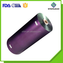Colored Mirrorized BOPP PET CPP Metallic Film Rolls