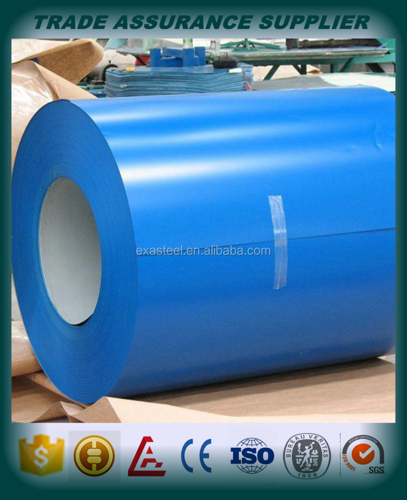 PPGI ppgL color coated pregalvanized steel coil/sheet corrugated roofing sheet