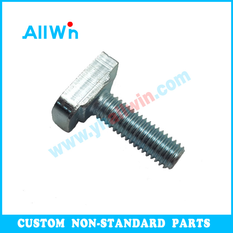 China Supplier M4 To M30 Stainless Steel 304 316 A2-50 A4-70 Square Head T Bolt