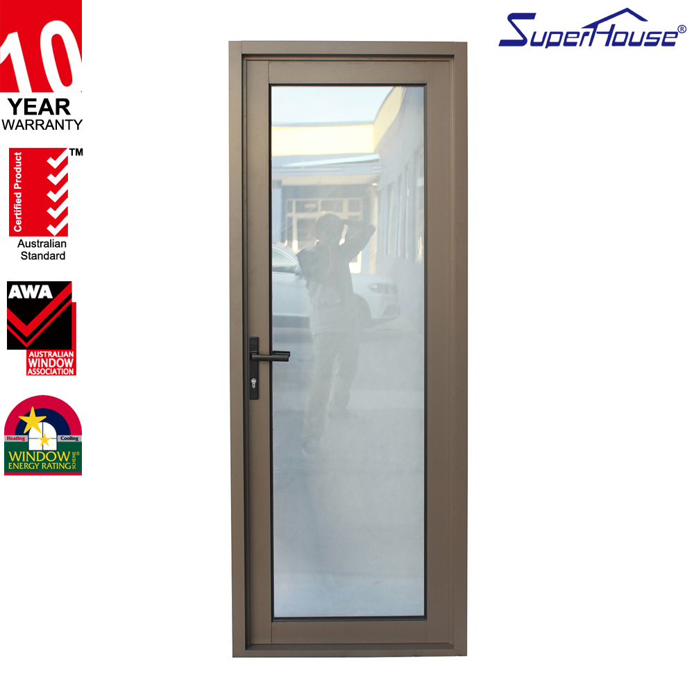 Superhouse Safety aluminum glass casement doors and windows for hotel ,office,house