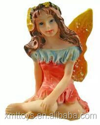 Handmade resin top quality Flying Fairy