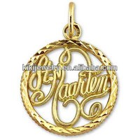 2014 gold plated or silver plated dr Marten charm