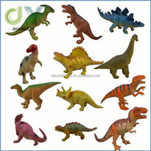 Cheap Mini size Cartoon Dinosaur Toy 3d Dinosaur Model