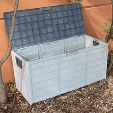 Big capacity weatherproof outdoor garden storage box boxes