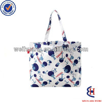 fashion polyester bag for shopping with snoopy