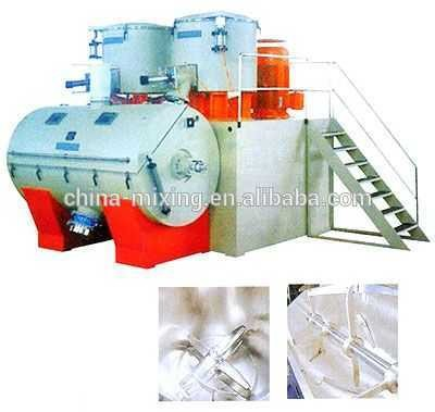 SRL-W Series horizontal used for the processes of compounding mixing