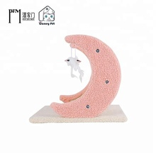 Natural Sisal Cat Tree Wooden Scratching Post Tower Condo Furniture Foldable Kitty Play House Beauty Pink