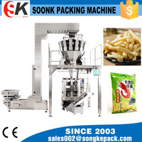 10 /14/16 Head Combination Weigher Granule Packing Machine