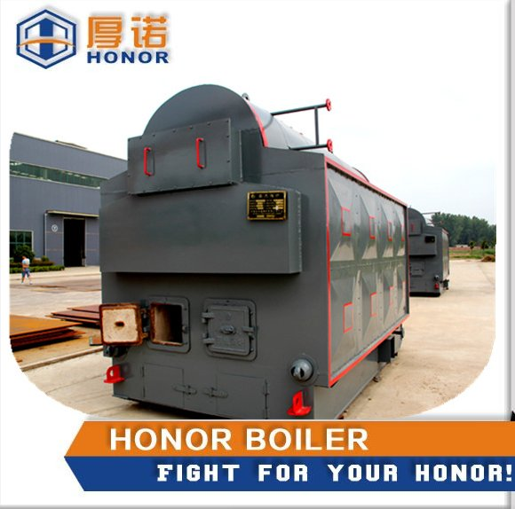 DZL Series Horizontal Wood Burning Cook Stove with Boiler, Bulk Coal Fired Boiler For Industry