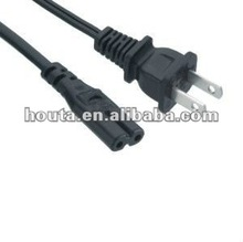 Power Cord 2 Pin Female Connector PS3 Slim Power Cord