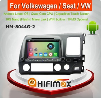 HIFIMAX 7'' Android 5.1.1 car dvd player for Honda CIVIC Right Hand Drive (2006-2011) WITH Capacitive screen 1080P WIFI 3G dvd
