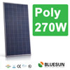 High quality 270w poly solar panel 30V with best supplier for solar system