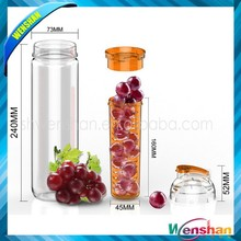 tritan sport water bottle plastic new/fruit infusion bottle water bottle/ bpa free