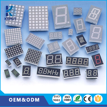 New products common anode white color10 pins 0.39 inch 3 digit 7 segment mini digital led clock display