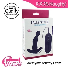 Beads Style Vibrating Anal Plug Swing for women,sex toys realistic pulsating dildo,vibrating pen dildo,vibrating double headed