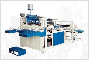 TB-2800 Smi-Auto Gluer,corrugated machine