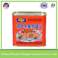 China Wholesale Custom canned chicken luncheon meat