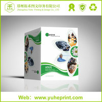 Factory price wholesale catalogs printing CMYK free sample design auto spare parts catalogues