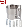 "2.5"" Stainless Steel Lap Joint Clamp Sleeve/Muffler Clamp"