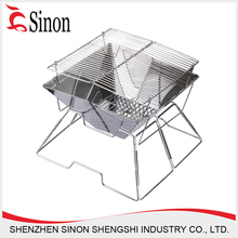 Industrial outdoor camp smoke free charcoal bbq grill
