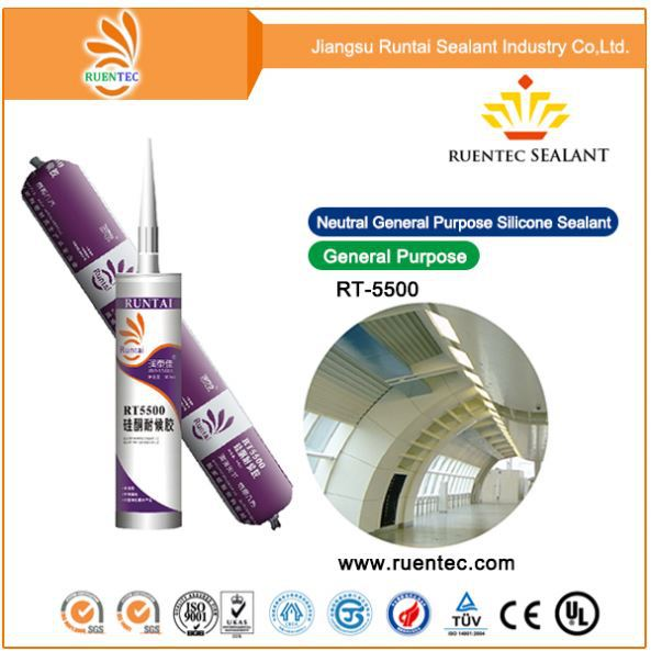 Neutral curing Factory price rtv silicon sealant for Highway crack filling