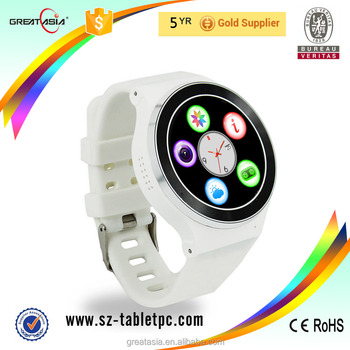 "S51 Android 5.1 System Reloj Inteligente Support WIFI GPS 2G & 3G CDMA Mobile Watch Phone 1.54"" IPS Smart Watch"