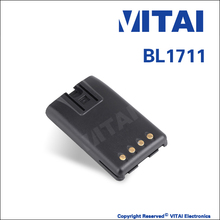 VITAI VT-BL1711 7.4V Rechargeable High-efficiency FM Transceiver Battery