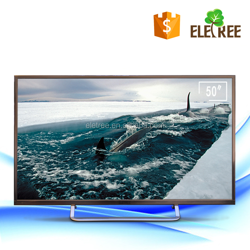 "KT-550 Smart TV led 50 "" Full HD Conversor Digital 2 HD-MI 1 USB 60Hz 50 inch LED TV"