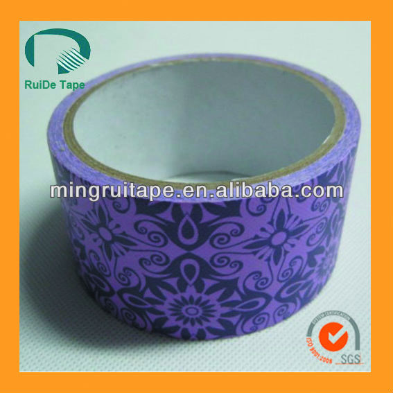 2015 high quality colourful duct tape