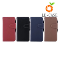 TPU+Leather phone case card holder for iPhone case