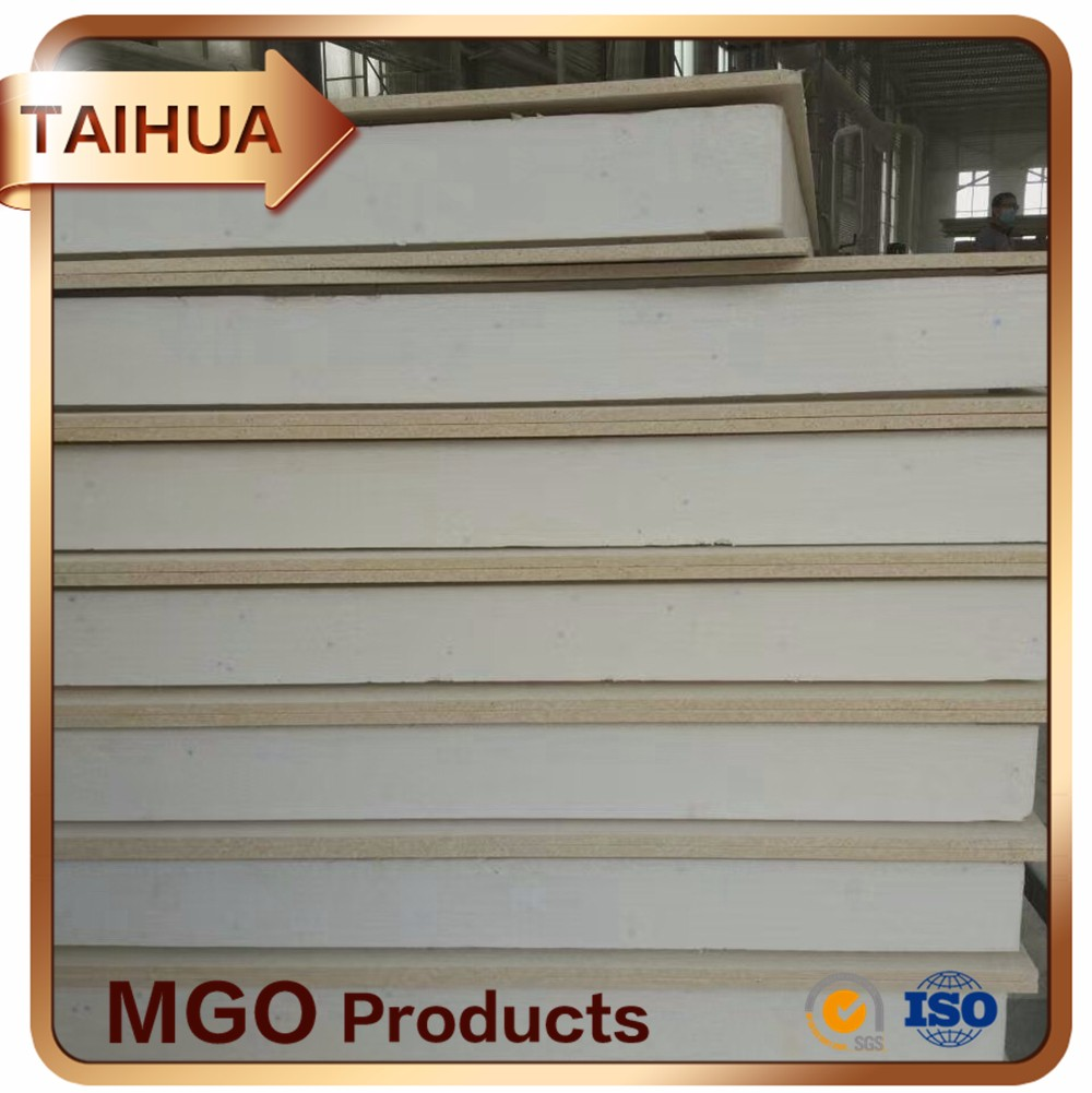 Fireproor MGO Board temporary building materials