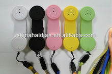 118B 2017 hot wireless anti-radiation mobile phone handset for bluetooth