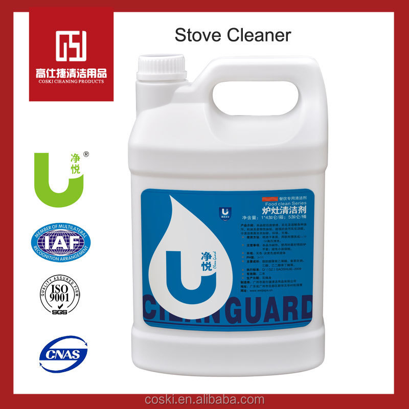 Oil stain oven removing liquid kitchen grease cleaner