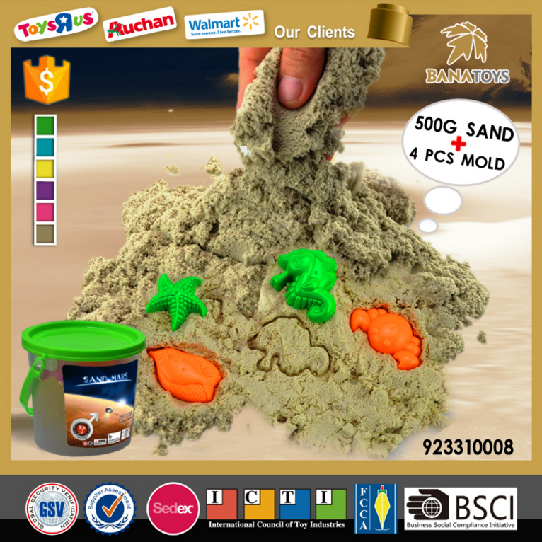 Magical Sand Model with Plastic Mold