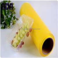 Food packing 100% PVC cling film