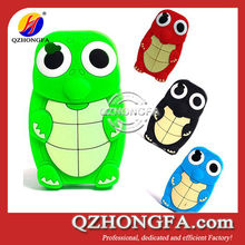 Cute Turtle Dinosaur Animal Silicone Case for iPhone 4 4s