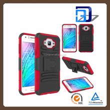 bulk buy from china PC + Silicone Hybrid Armor Case with Slim Stand phone cover for samsung galaxy j7 alibaba express