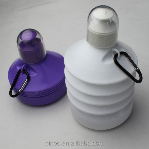 Wholesale Plastic Collapsible Water Bottle